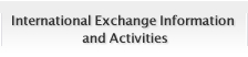 International Exchange Information and Activities